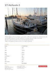 S/Y AleXandra S - Fine Yachts