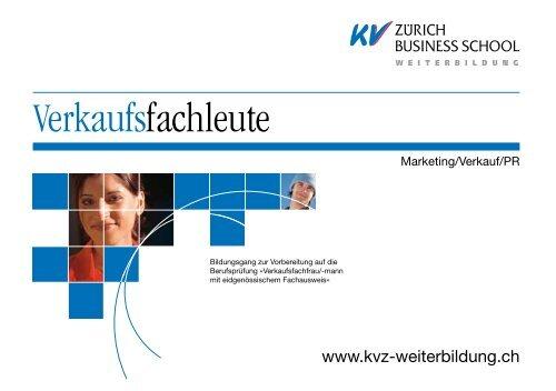 Broschüre Download - KV Zürich Business School
