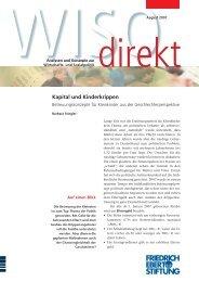 Kapital und Kinderkrippen - Bibliothek der Friedrich-Ebert-Stiftung