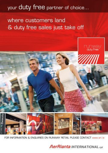where customers land & duty free sales just take off - The Moodie ...