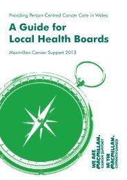 Providing Person-Centred Cancer Care in Wales Toolkit [PDF]