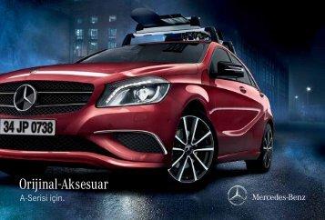 A-Serisi Aksesuar Broşürü - Mercedes Benz