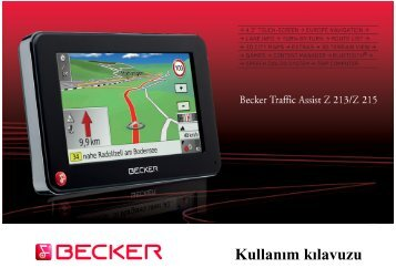 Kullanım kılavuzu - Becker - Harman/Becker Automotive Systems ...