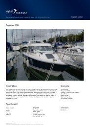 Aquador 25C - Opal Marine