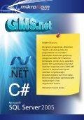 GMS.NET Yazılımı'nın tanıtım broşürünü indirmek için bu bağlantıyı ... - Page 2