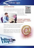 GMS.NET Yazılımı'nın tanıtım broşürünü indirmek için bu bağlantıyı ... - Page 4
