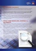 GMS.NET Yazılımı'nın tanıtım broşürünü indirmek için bu bağlantıyı ... - Page 7