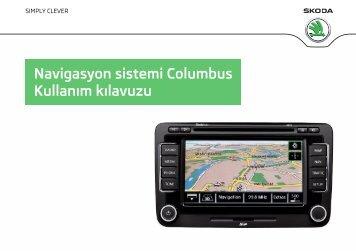 Navigasyon sistemi Columbus Kullanım kılavuzu - Media Portal ...