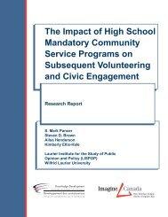 The Impact of High School Mandatory Community Service Programs ...