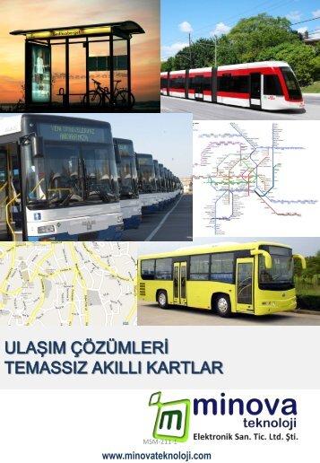 Toplu taşıma çözümleri genel kataloğu için tıklayınız