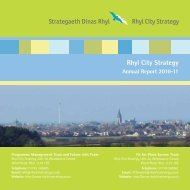 Annual Report 2010-11 - Rhyl City Strategy