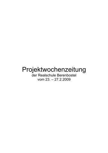 Projektwoche - Realschule Berenbostel