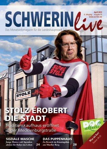 Download Webversion (72 DPI, 8,2 MB) - Schwerin Live