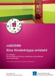 eine Kinderkrippe entsteht - Georg-Simon-Ohm-Hochschule Nürnberg
