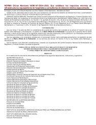 NORMA Oficial Mexicana NOM-197-SSA1-2000, Que establece los ...