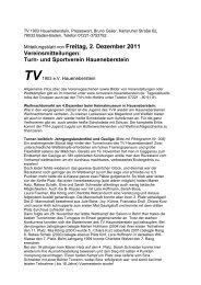 Mitteilungsblatt von Freitag, 2. Dezember 2011 - Turnverein ...