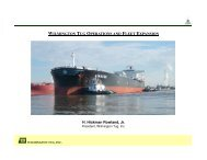 H. Hickman Rowland, Jr. WILMINGTON TUG OPERATIONS AND ...