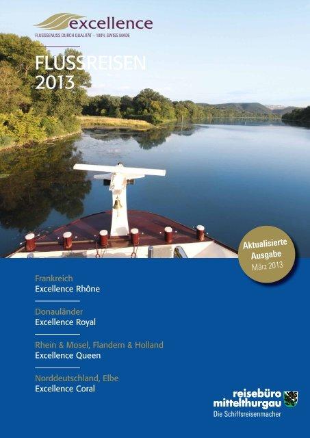 FLUSSREISEN 2013 - Baumann Cruises (CH)
