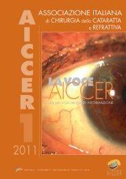 La Voce AICCER n. 1 anno 2011