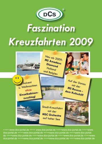 Faszination Kreuzfahrten 2009 - DCS TOURISTIK