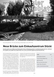4/2009 - Pro-Velo beider Basel