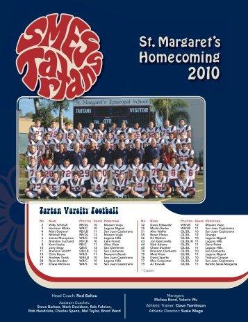 Tartan Varsity Football - St. Margaret's Episcopal School