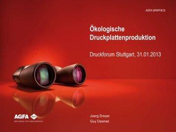 Präsentation Agfa - Verband Druck und Medien