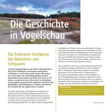 Geschichte in Vogelschau - Zeeland Vakantiewoningen