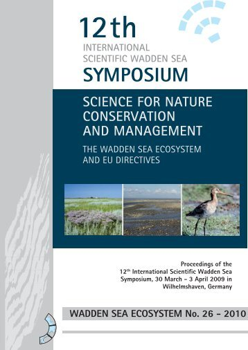 SYMPOSIUM - Trilateral Wadden Sea Cooperation