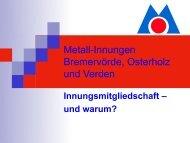 Bäcker-Innung Osterholz-Verden - Kreishandwerkerschaft Osterholz ...