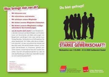 STARKE GEWERKSCHAFT! - verdi-lnr.de