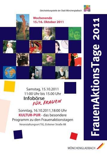 FrauenAktionsTage 2011 - Verdi-lnr.de