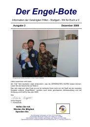 Engelbote Ausgabe 2 / 2008 - Vereinigte Hilfen Stuttgart