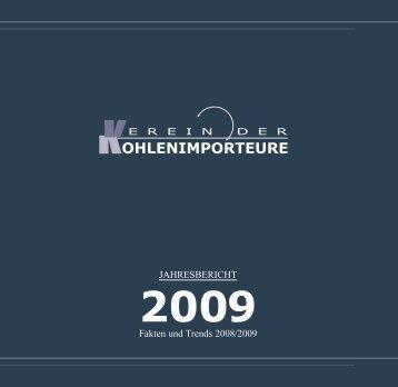 Jahresbericht 2009 - Verein der Kohlenimporteure eV