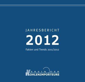 Jahresbericht 2012 - Verein der Kohlenimporteure eV
