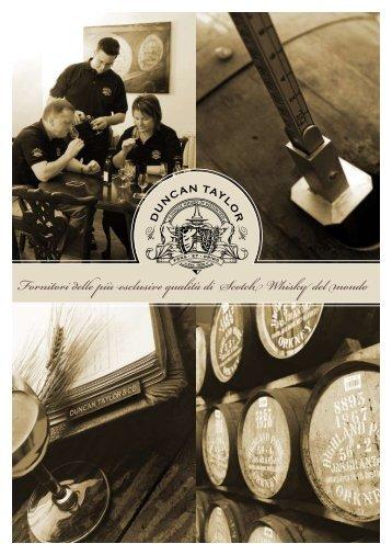 Fornitori delle più esclusive qualità di Scotch Whisky del mondo
