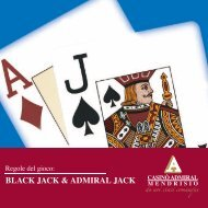 BLACK JACK & ADMIRAL JACK - casino ADMIRAL MENDRISIO