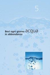 5. Bevi ogni giorno acqua in abbondanza - Inran