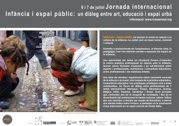 Jornada internacional Infància i espai públic: