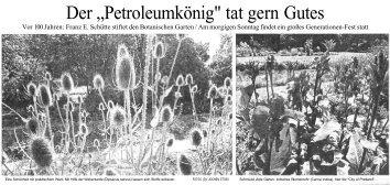 Weser-Kurier 3.9.05 - Verein der Freunde des Rhododendronparks ...