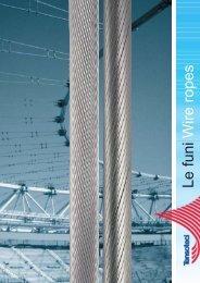Dati tecnici - Redaelli Wire Ropes - Funi Speciali