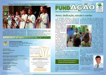 Amor, dedicação, estudo e samba - seicho-no-ie do brasil