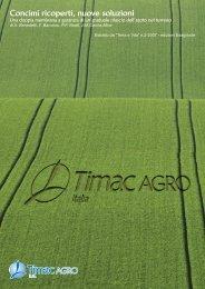 TV 2/2007: Concimi ricoperti, nuove soluzioni - TIMAC Agro
