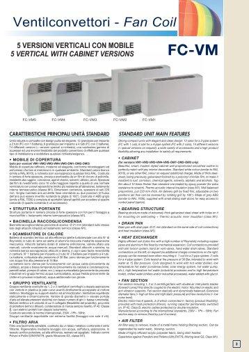 docScheda tecnica Fan CoilScarica il documento pdf - Tekno Point