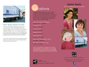 Mobile Mammography Program - Ventura County Health Care Agency
