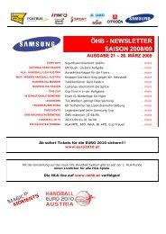 OEHB-21-2008-09 - Vereinsmeier