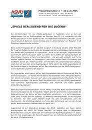 Presseinformation 4 - Vereinsmeier