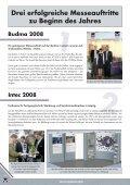 Querschnitt 2008 - Ausgabe 01 - Welser Profile AG - Seite 4