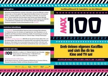 Flyer MAX100 Download - Verikom