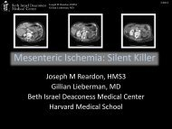 Mesenteric Ischemia: Silent Killer - Lieberman's eRadiology ...